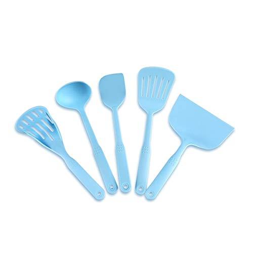 5-piece Heat-resistant Nylon Kitchen Tool Spoon Shovel Planer Set