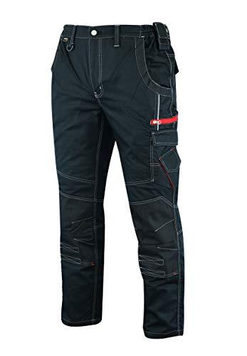 MS9 Pantaloni da Lavoro da Uomo con Tasche Multifunzionali e Ginoccho Cordura Tasche