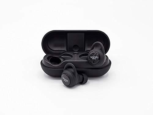 Vieta Pro VHP-TW20BK Auricular Bluetooth 5.0 con Función Manos Libres, Resistencia al Agua ipx7, 18 horas de Batería y Acceso al Asistente de Voz, Negro, 12 x 4 x 12 cm