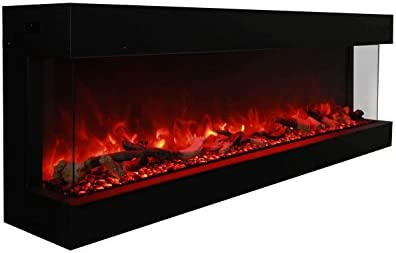 Amantii TRU View XL 3 Sided Electric Fireplace Deep 72 product image