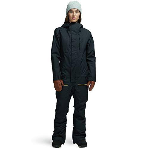 AIRBLASTER Women's Insulated Freedom Suit One Piece Outerwear, Black, XLarge