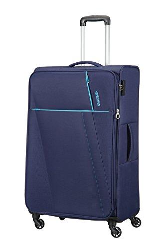 AMERICAN TOURISTER Joyride - Spinner 79/29 Expandable Equipaje de mano, 79 cm, 106.5 liters, Azul (Nordic Blue)