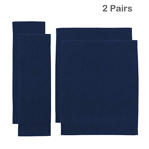 Counting Mars 2 Set Replacement Cover Canvas for Directors Chair, Navy, 15cm X 51cm + 46cm X 37cm