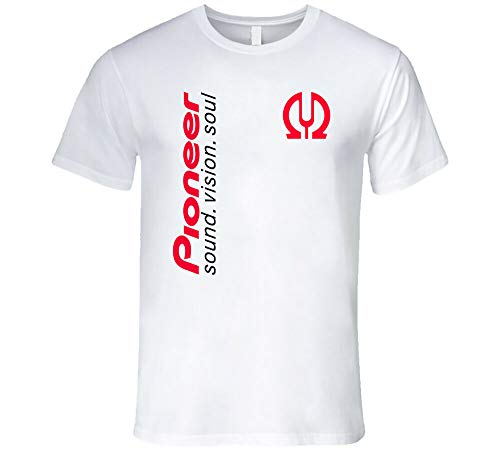 Pioneer Pro Dj Party Techno House Music EDM Nexus 2000 Ddj Djm Cdj White T-Shirt