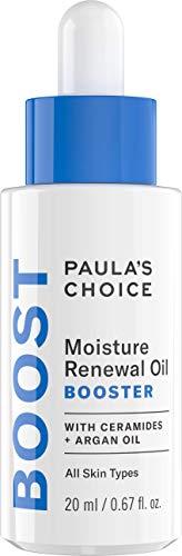 Paula\'s Choice Moisture Renewal Oil Booster - Anti Aging Öl Serum Reduziert Falten & Rötungen für Gesicht & Augen - mit Arganöl & Jojobaöl - Trockene bis Sehr Trockene Haut - 20 ml