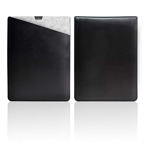 WALNEW MacBook Pro 16 Zoll, Veröffentlicht in 2019, Schutzhülle, Hülle, Hülle, Cover, mit Zwei-Taschen-Design mit Geschütztem Inneren & Externem Mousepad