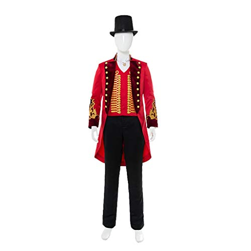 Adult Show Costume Circus Red Costume Cosplay Halloween Clothing