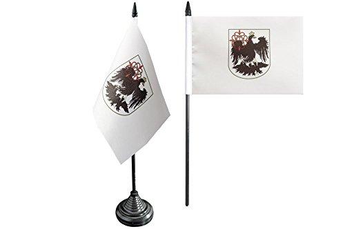 Flaggenfritze Tischflagge/Tischfahne Argentinien Buenos Aires + gratis Aufkleber