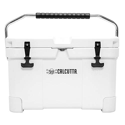Calcutta CCG2-20 Renegade Cooler 20 Liter White with LED Drain Plug, SS