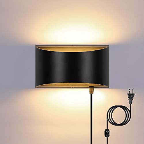 Up and down lighting wall sconce
