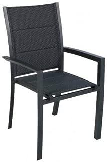 Hesp/éride Le Depot BAILLEUL Chaise Pliante Modula Galet//Silver Mat
