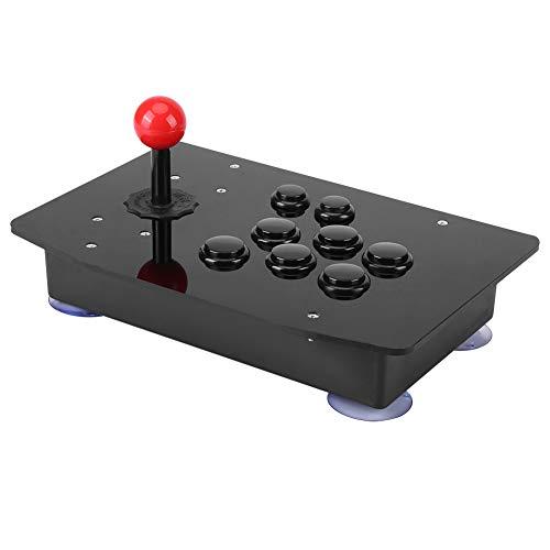 Contr?leur de jeu, Manette de jeu classique USB avec manette de jeu classique, délai nul, huit boutons parfaits pour jeu d'arcade classique pour ordinateur