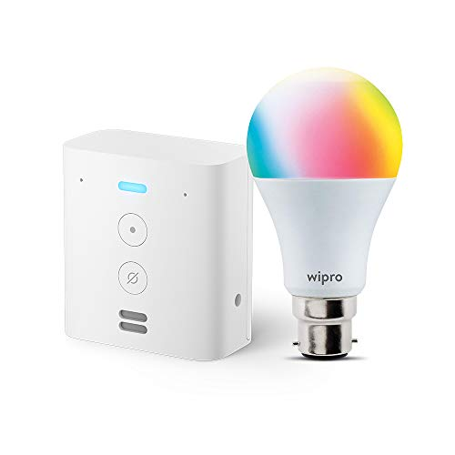Echo Flex bundle with Wipro 9W Smart LED Bulb