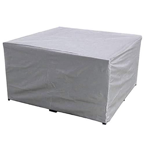 Leobtain Muebles Cubierta Protectora Polvo a Prueba De Agua Al Aire Libre Sofá del Jardín Durable para El Hogar Al Aire Libre