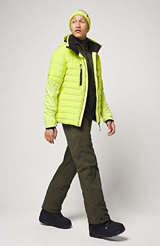 O'Neill Herren PM IGNEOUS Jackets Snow, Lime Punch, XL