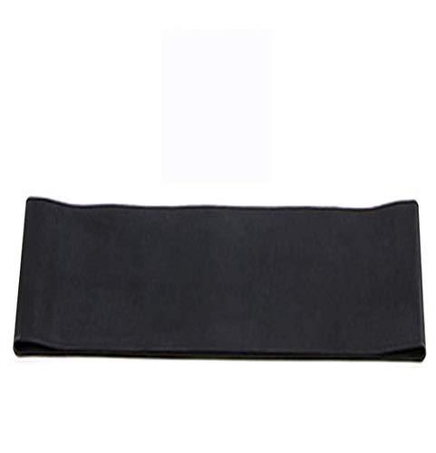 Yoga Banda de Resistencia, en Interiores y Exteriores Equipo de la Aptitud, la Aptitud de Pilates Ejercicio de formación de la Banda elástica 600 * 50mm Negro aijia