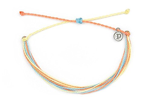 Pura Vida Beach Life Anklet Handcrafted 100% Wax Coated Waterproof Accessories