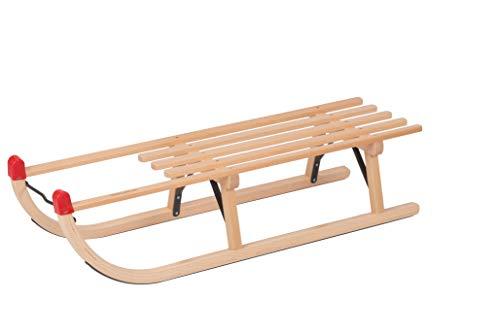 Davos houten slee 100 cm rodelhout massief slee slee slee slede slee