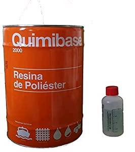 QUIMIBASE - RESINA POLIESTER + catalizador 25 KG