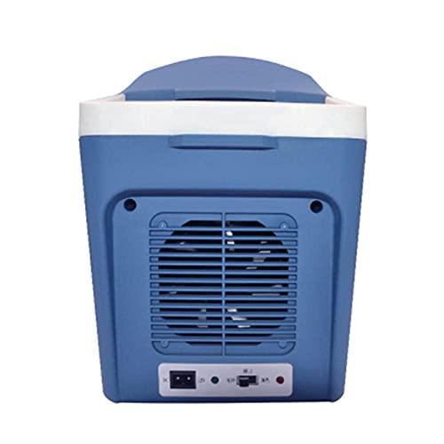 CSSDESIGN Caja para congelador de coche, 12 V, nevera eléctrica para coche, 7 L, mini congelador, portátil, refrigerador, calentador de refrigerador, para camping, picnic, playa