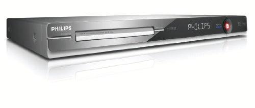 Philips DVD R 3570 H DVD- und Festplatten-Rekorder 160 GB (DivX-zertifiziert) schwarz/silber (Blende Schwarz)