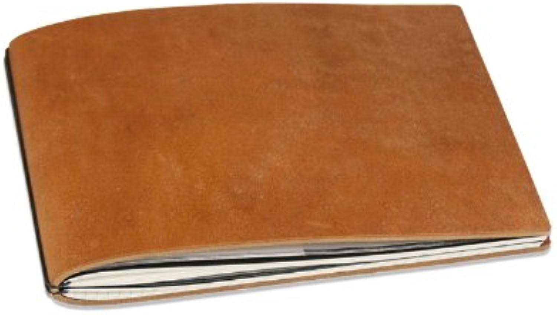 X17 – Notebook A5 quer, haut, mit austauschbaren Notizbücher, Tische, weiß, Made in Germany) braun Brandy B00KAAVYJ6  | München