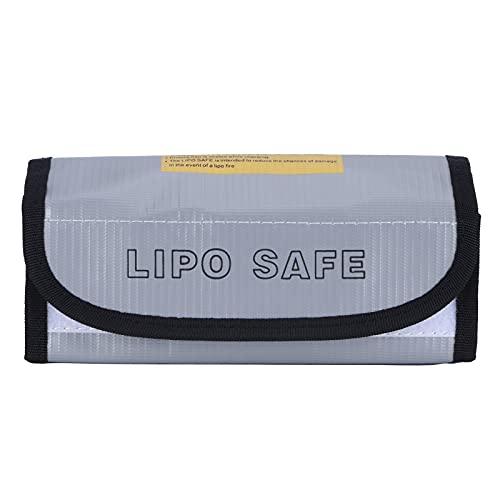 Bolsa segura para batería, bolsa plateada para batería para el hogar