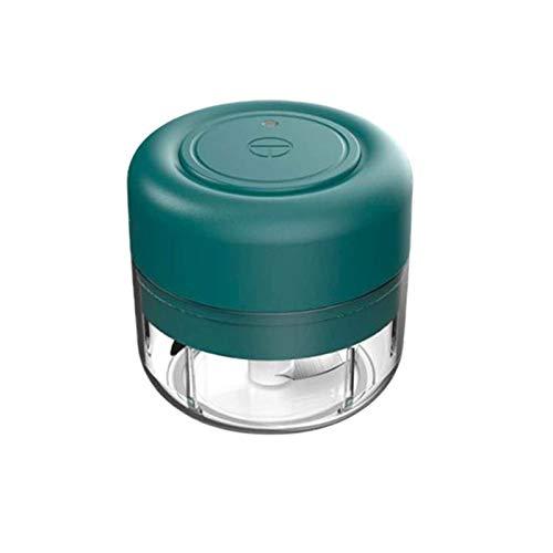 QIDIAN Spiralizer eléctrica, Wireless Mini eléctrico ajo alimento Blender, Jengibre Vegetal Procesador...