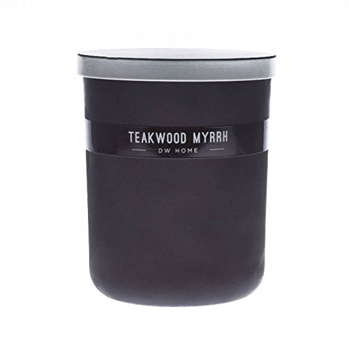 DW Home 16oz Teakwood Myrrh 2 Wick Candle Desmond Collection