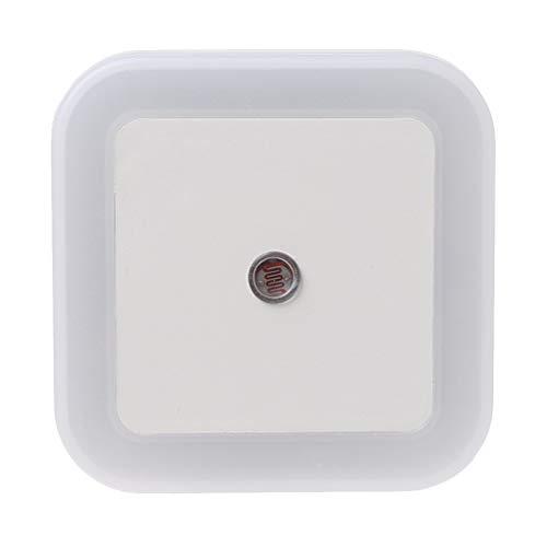 Menitn Nachtlicht mit Steckdose, LED, 4 Stück, Nachtlampe mit Bewegungsmelder, automatisch, Plug-and-Play, für Kinder, Küche, Schlafzimmer, Wohnzimmer, Garage, Badezimmer, Flur, Bodentreppe
