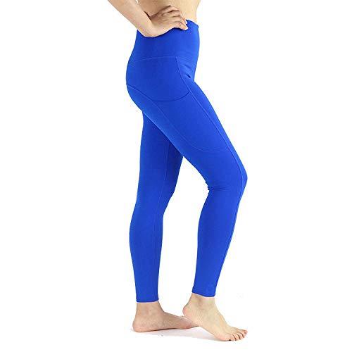Gym Yoga Pantalon Mujer Transpirables para Yoga Azul Mujer Yoga Deporte para Deportes TR Ng Yoga Fitness Yoga TR Ng Ropa