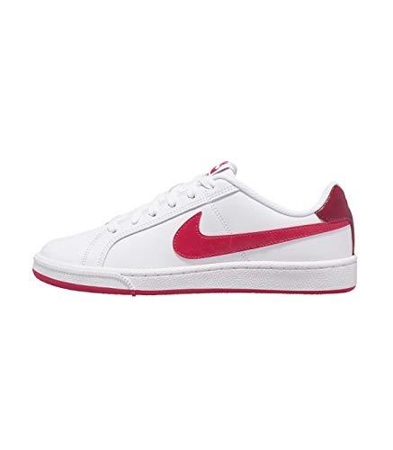 Nike Wmns Court Royale, Zapatillas de Tenis Mujer, Blanco (White/Wild Cherry/Noble Red 119), 36.5 EU