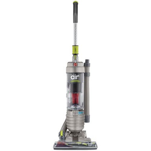 Hoover WindTunnel Air Bagless Upright Corded Lightweight Vacuum Cleaner UH70400,Silver