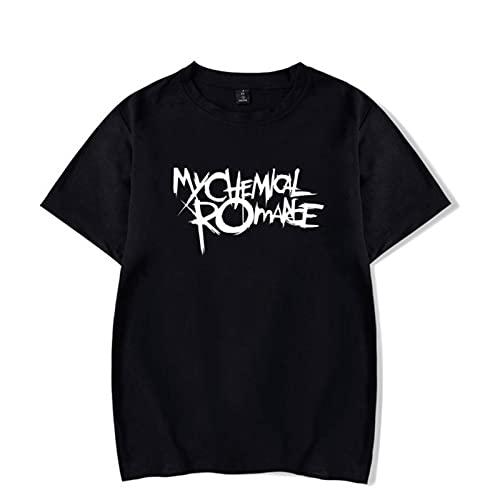 My Chemical Romance, Camiseta Informal de Verano con Cuello Alto de algodón...