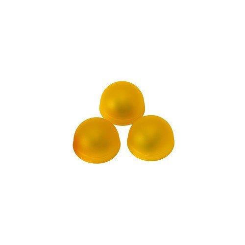 IKEA SOLVINDEN Halbkugelleuchte 3 Stück; in gelb; batteriebetrieben
