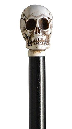 El pomo de Stock de calavera de esqueleto de Eric Draven de marfil de