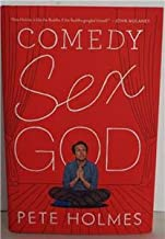 Comedy Sex God SIGNED by PETE HOLMES 1st ED Hardcover (actor from Crashing series)