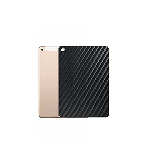 Vaxson 2 Unidades Protector de pantalla Posterior, compatible con ( 2018/2017)iPad Pro 9.7/Air2/Air/New iPad 9.7 AIR 2, Película Protectora Skin Piel Negro [No Carcasa Case ]
