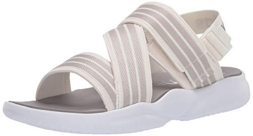 adidas Women's 90s Slide Sandal, White, 7 M US