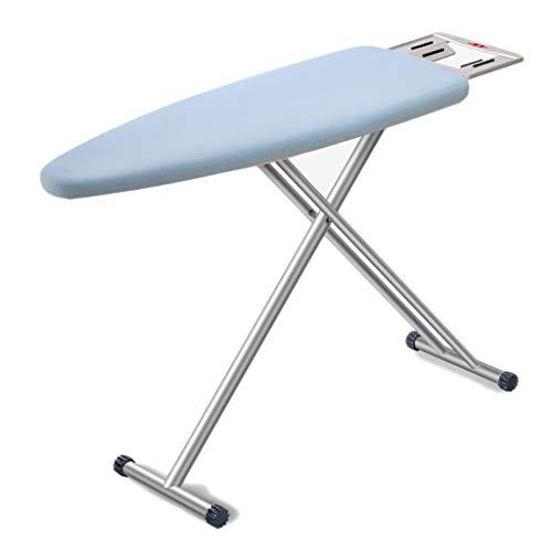 GBPOY Tabla de Planchar Tabla de Planchar Plegable del hogar, Tabla Que Plancha Azul, los 122 * 87cm Mesa de Planchar portátil (Color : Blue)