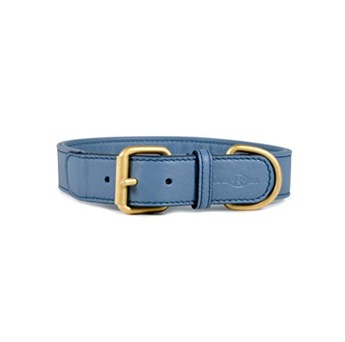United Pets Pelle- Mignon Collare in Pelle tg60 Blu