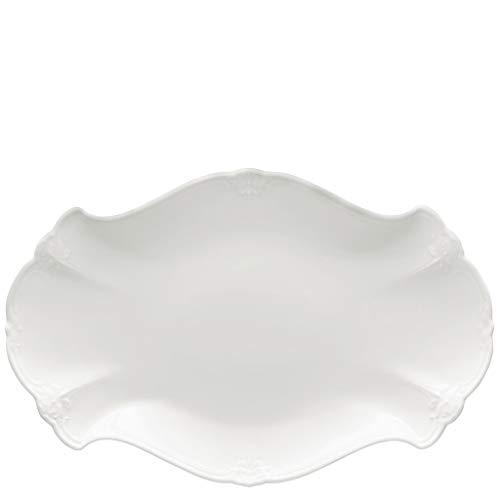 Hutschenreuther Ann Marie Assiette à Petit-déjeuner à Bord Ourlé, Sky, Porcelaine, 23 cm, 10023