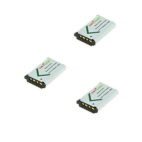 ChiliPower 3-Pack NP-BX1 (1350mAh) Akku für Sony Cyber-shot DSC-HX50V, DSC-HX300, DSC-RX1, DSC-RX1R, DSC-RX100, DSC-RX100 II, DSC-WX300, HDR-AS10, HDR-AS15, HDR-AS30V, HDR-MV1