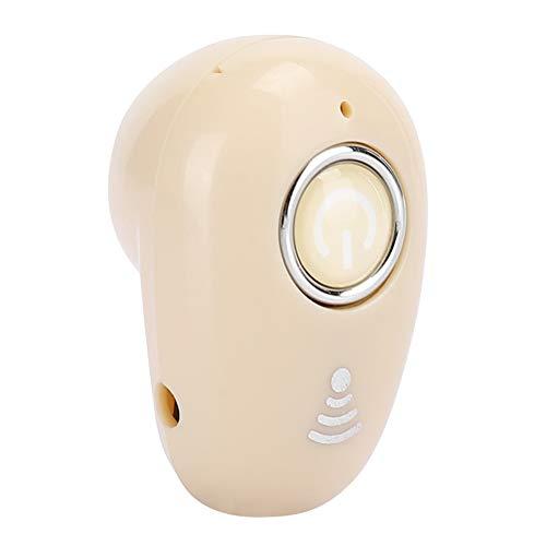 Limouyin Mini Auricular Bluetooth Invisible Auricular inalámbrico Bluetooth Manos Libres Auriculares Deportivos monoaurales para Conducir, Deportes, Negocios, etc.(Color de Piel)