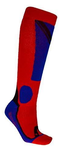 Völkl Ski All Mountain Socks 1er Pack black, Size:39-42, Farben:red