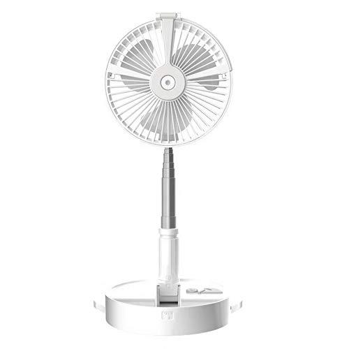 #N/V Ventilador plegable de mano para casa, oficina, velocidad ajustable, USB, recargable, para viajes al aire libre