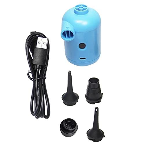 Kpcxdp Mini Mini Mini Bomba DE Aire ELÉCTRICA para LA Piscina INFLADABLE CAMPEL DE Cama Inflable