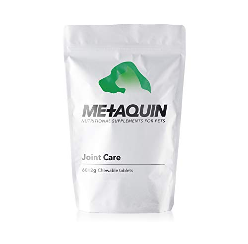 Metaquin Joint Care Health Supplement for Dogs 2g Tablets Turmeric, Glucosamine, Chondroitin & MSM