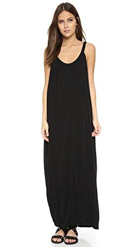 Velvet Women's Slinky Maxi Dress, Black, Large