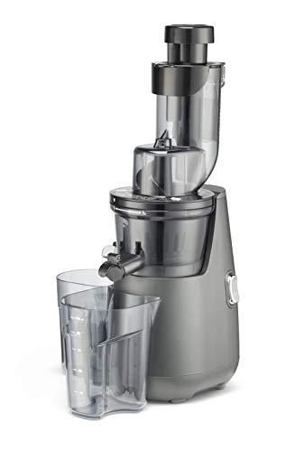 "Cuisinart CSJ-300 Easy Clean Slow Juicer, 10.24""(L) x 6.97""(W) x 18.27""(H), Silver/Black"